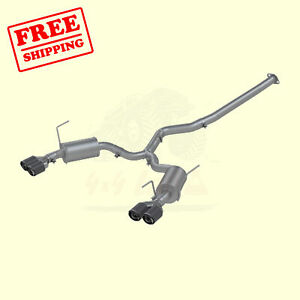 Exhaust Sys For Sub Impreza Wrx Sedan 2 0l Wrx Sti Sedan 2 5l 2011 14 Mbrp