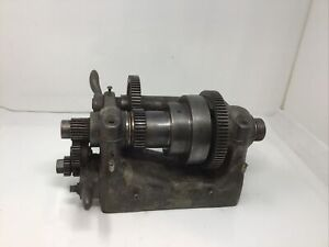 South Bend 9 Metal Lathe Complete Headstock With Back Gear Rev Tumbler Guard