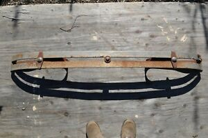 1920 s 1930 s Antique Vintage Classic Automobile Front Bumper 5