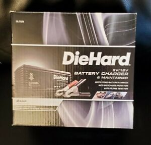 Diehard 71219 Ca Automatic 12 Volt 2 Amps Battery Charger Maintainer