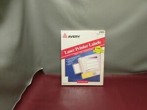 Avery 5160 White Shipping Labels Laser Printer 1 x2 5 8 100 Sheets 3000 Labels