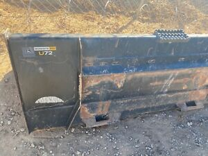 John Deere U72 Skid Steer tractor 6 Bucket bobcat Case Cat More