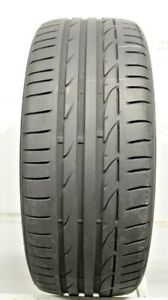 One Used 225 40r19 2254019 Bridgestone Potenza S001 Rft Bmw 7 5 32 J261