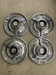 1963 Chevrolet Chevy Ss Impala Hubcaps Wheel Covers