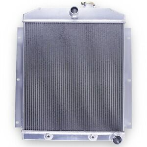 3 Row Performance Radiator For 1947 1954 Chevy Truck 3100 3600 3800 3 5l 3 8l L6