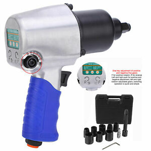 Kp 509 1 2 Air Impact Wrench Kit W sockets Case Automotive Repair Tools