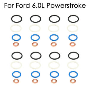 For Ford 6 0l Powerstroke Diesel Internal Fuel Injector O Rings Seal Kit 8 Set