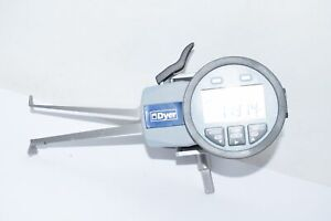 Dyer Three Point Electronic Groove Gage 0 984 1 771 Range 650 004