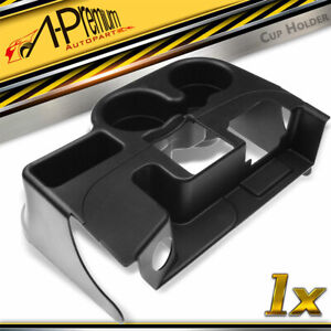Black Center Console Cup Holder For Dodge Ram 1500 2500 3500 1999 2001 Ss281azaa