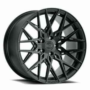 19 Xo Luxury Phoenix 19x9 5 Double Black 5x4 5 Luxury Wheel 20mm Rim