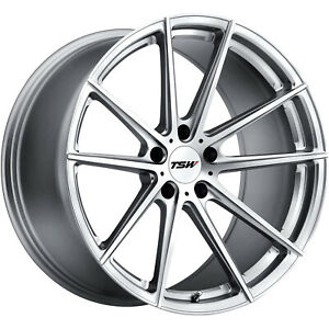 19x8 Silver Wheel Tsw Bathurst 5x4 25 40