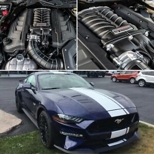 Ford Mustang Gt 5 0l 2018 2020 Roush Phase 2 R2650 Supercharger Intercooled Kit