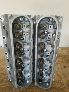 Pair Of 5 3 2007 To 2013 Chevy Rebuilt 799 Cylinder Heads