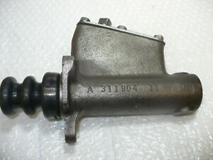 Dodge Power Wagon Master Cylinder A311904 Canted Lid Stainless Sleeved