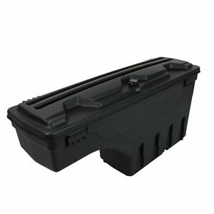 Lockable Storage Box Truck Bed Tool Box Passenger Side For 2015 2019 Ford F 150