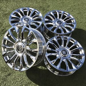21 Rolls Royce Chrome Oem Factory Rims Dawn Ghost Wraith Set 4 2021 21 Inch