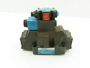 Vickers Dg5s 8 2a m fpa5wl b5 30 Hydraulic Directional Control Solenoid Valve