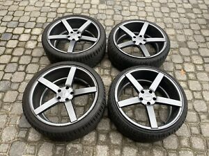 Vossen Cv3 Wheels Rims 20 20x9 5x114 3 With Like New Tires