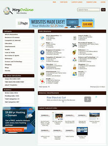 Web Links Directory Website Preloaded Free Hosting