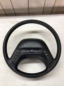 1993 1994 Ford Ranger Steering Wheel Black With Cruise