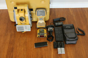 Topcon Is 203 3 Robotic Imaging Total Station Kit Fc 2500 Collector Rc 4 Topsur