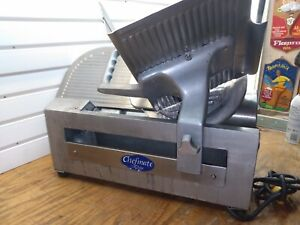 Globe Chefmate Gc512 1 3 Hp 12 Manual Gravity Feed Slicer Pickup Only Miami Fl