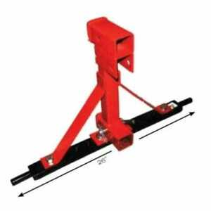 3 Pt Hitch Tow Assembly Upper And Lower Connection Category 1