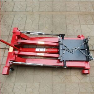 2 Tons 4400lbs Floor Low Profile Hydraulic Transmission Jack Lift Tools For Shop