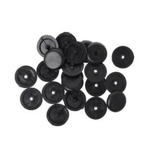 10 Pcs Seat Belt Buckle Holder Fasteners Clips Stop Button For Ford