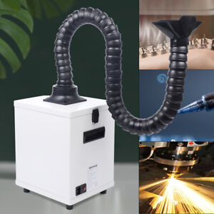 110v 100w Laser Soldering Smoke Purify Machine Rotary 3 layer Fume Extractor New