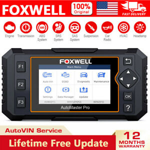 Foxwell Nt624 Elite Diagnostic All System Scanner Automotive Car Obd2 Scan Tool