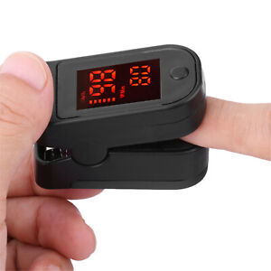 Spo2 Fingertip Pulse Oximeter Blood Oxygen Saturation Heart Rate Monitor Healthy