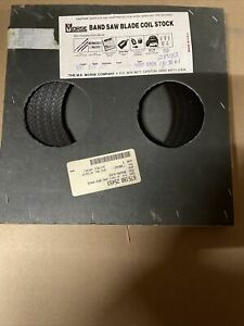 Mk Morse Band Saw Blade Coil 3 8 X 025 X 14t Made In Usa new Old Stock