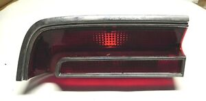 1967 Plymouth Sport Fury Left Outer Tail Light Lens Assembly Mopar 2606315