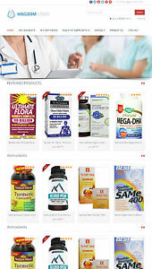 Vitamins Supplements Store Amazon Affiliate Website Free Hosting