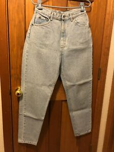 WOMEN#x27;S LEE 12 M LIGHT BLUE JEANS VINTAGE 100% COTTON 29 X 41.5 $12.95