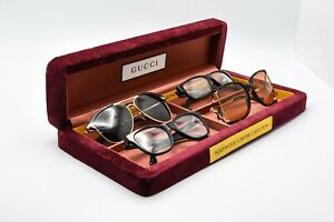 Gucci Hollywood Forever Collection Velvet Eyewear Display Case 2