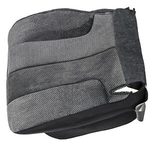 Fit 2003 2005 Dodge Ram 1500 2500 Slt Driver Side Bottom Cloth Seat Cover Gray