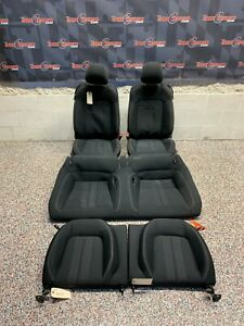 2018 Ford Mustang Gt Oem Black Cloth Seats