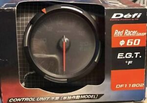 Defi Red Racer Egt Exhaust Gas Temperature Gauge Imperial 60mm 400 2000f Df11802