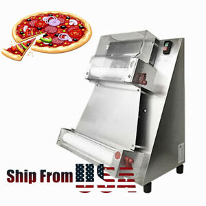 Commercial Automatic Electric Pizza Bread Dough Roller Sheeter Pizza Maker