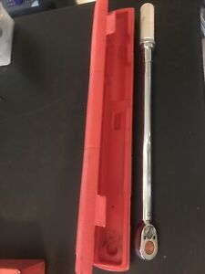 Snap On 1 2 Drive Torque Wrench Qjr3200c 30 200 Ft Pounds