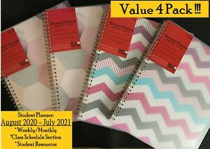 Planahead Student Planner Aug 2020 Jul 2012 8 5in X 10in Brand New lot Of 4