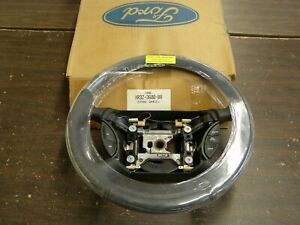 Nos Oem Ford 1999 2004 Mustang Leather Wrap Steering Wheel 2000 2001 2002 2003