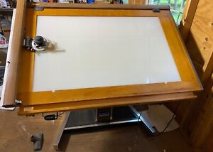 Mayline Futur matic Lited Draft Table 38 x60 Vemco Mark Xii V Track Drafting
