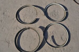 1920 S 1930 S Antique Vintage Classic Automobile Wire Wheel 4 Lock Rings 18