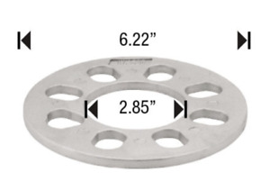 2 Wheel Spacers 4 Lug 1 4 Thick Universal Fit Spacer
