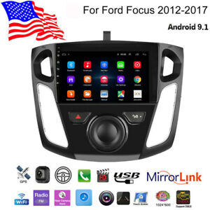 For 2012 17 Ford Focus 9 Inch Android 9 1 Car Stereo Player Radio Gps Navigation