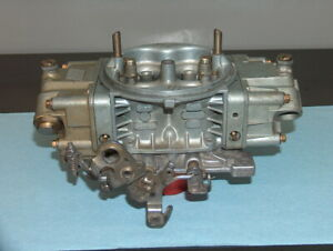 Barry Grant Bg Racing Holley 750 Alcohol 4 Bbl Double Pumper Carburetor