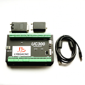 Mach3 Usb Control Card Uc300 Cnc Router 4axis Motion Control Card Breakout Board